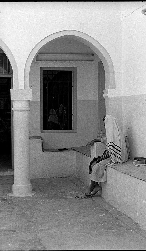 Au petit matin village Hara Kbira Djerba
