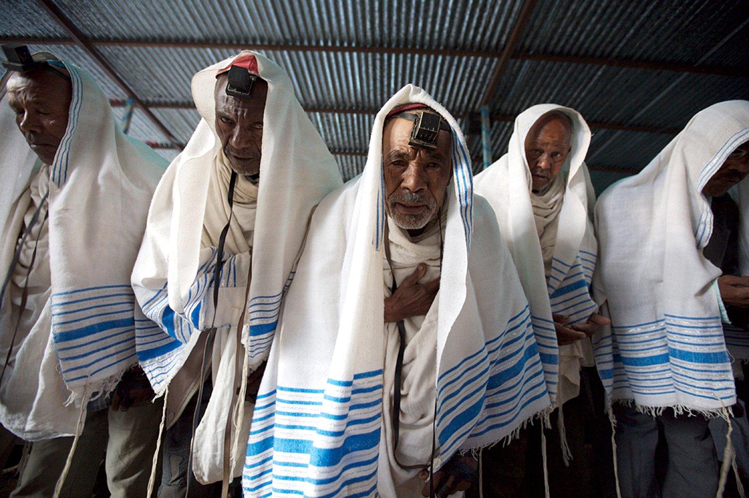 Prières à Gondar, Ethiopie 2008