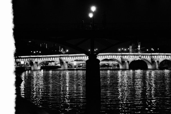 Pont des Arts, Paris 1997