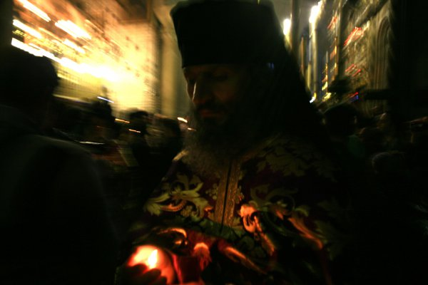 Pâques Orthodoxe, Jerusalem